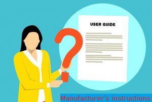Manufactures-instruction